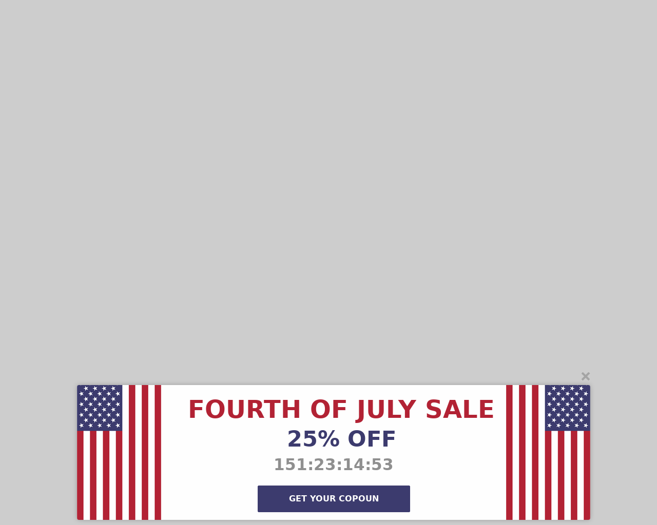 Fourth Of July - popups