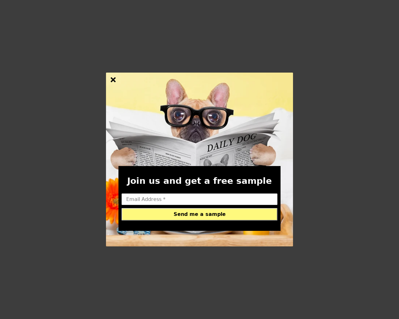 Dog Background - popups