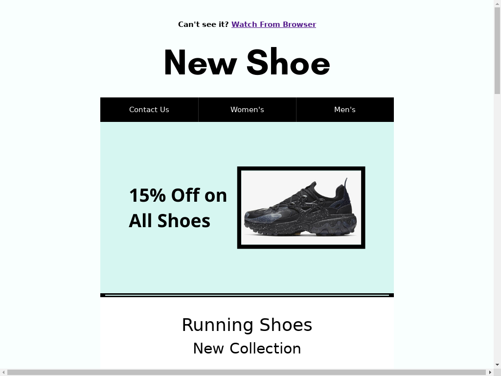 Buying Shoes - templates