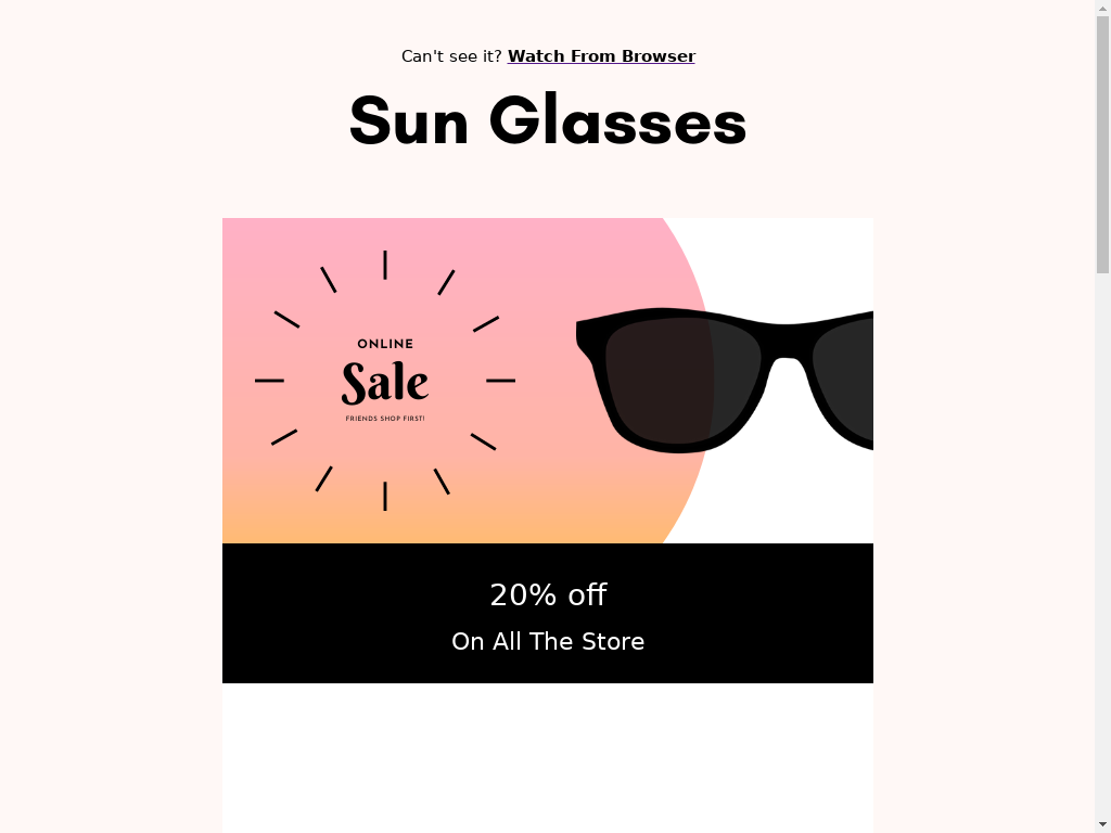 Sunglasses Collection - templates