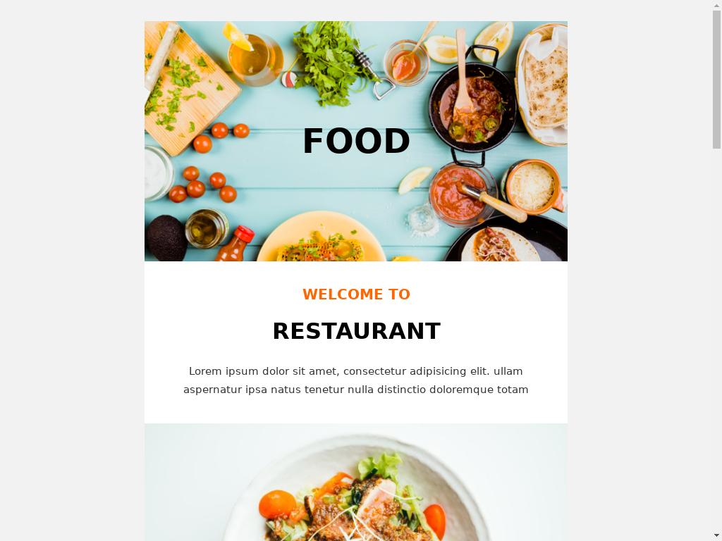 Restaurant - templates