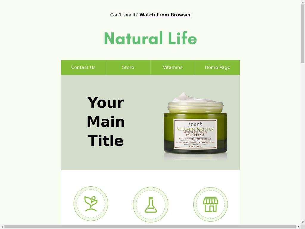 Natural Life - templates
