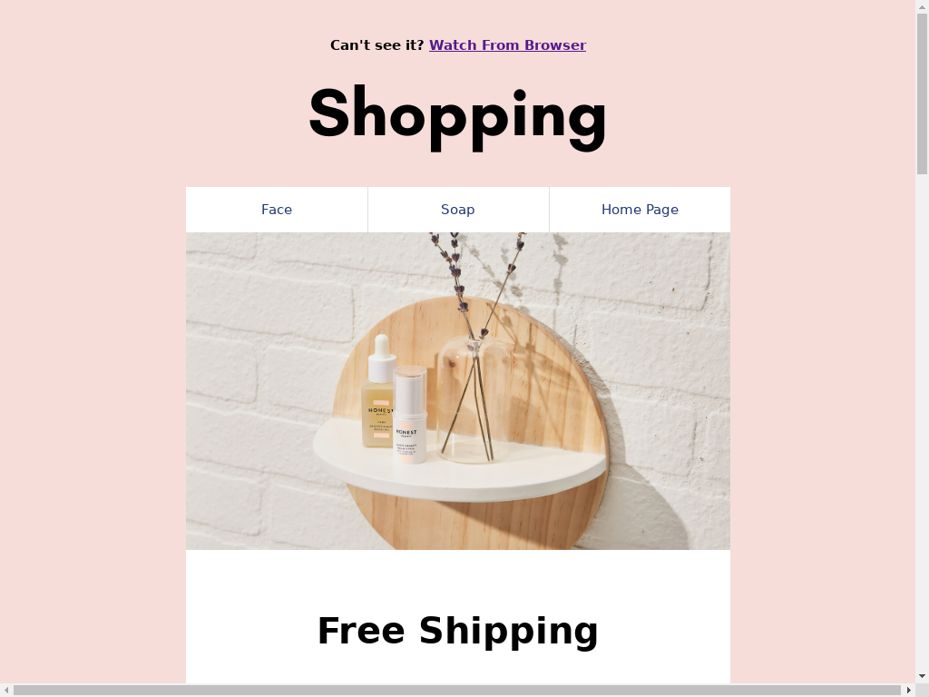 Shopping - templates