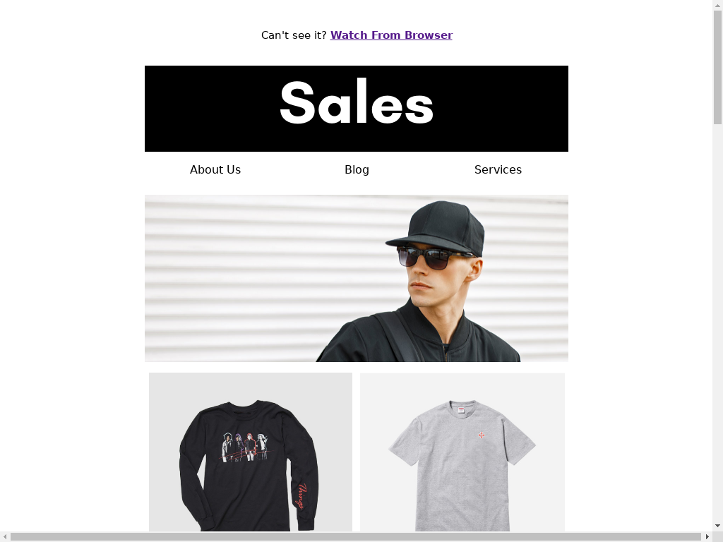 Sales Newsletter - templates