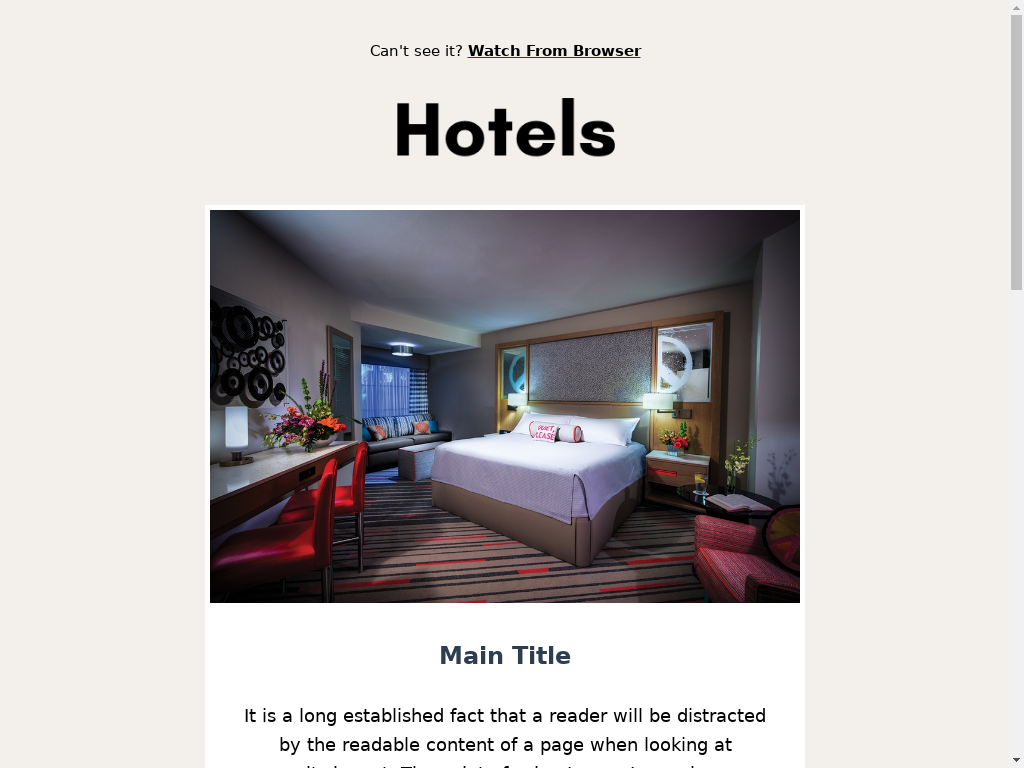 Hotel Room - templates