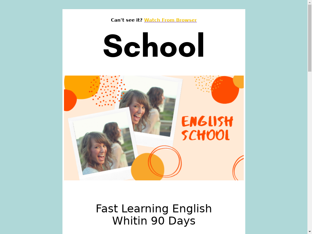 English School - templates